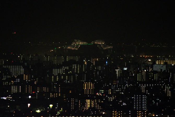 東京ゲートブリッジが昨日からライトアップ