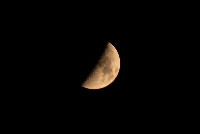 6月4日(月) 部分月食