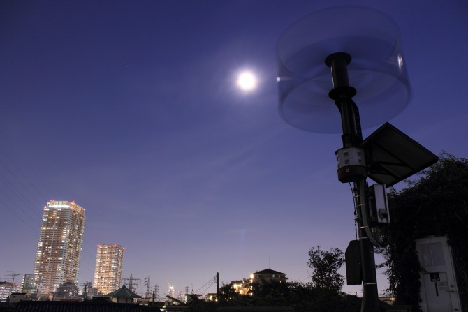 今晩の月は「十三夜の月」