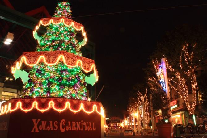 ニッケコルトンプラザのクリスマスツリー