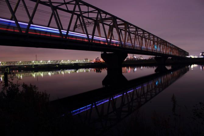 京成線と江戸川