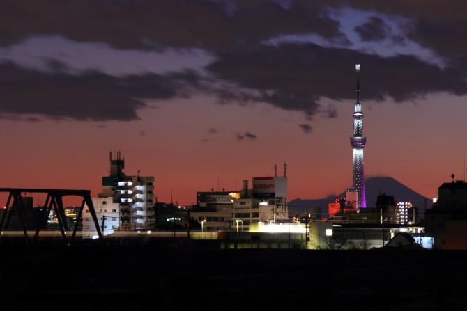 東京スカイツリーの冬季限定ライトアップは今日が最終日