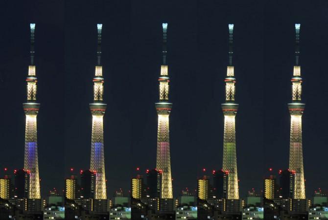 今年も東京スカイツリーで大晦日年越し特別ライティング