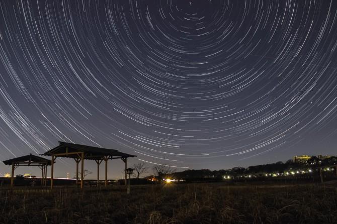 2014年1月4日の明け方 「しぶんぎ座流星群」がピーク