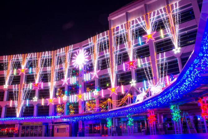 中山競馬場クリスマスイルミネーション 2014年12月6日(土)~12月28日(日)