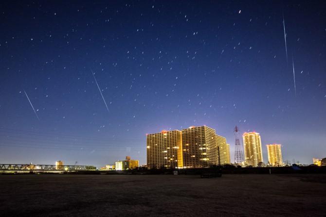 2015年1月4日 しぶんぎ座流星群の活動がピーク