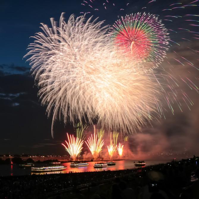市川市周辺で開催される花火大会 2015年