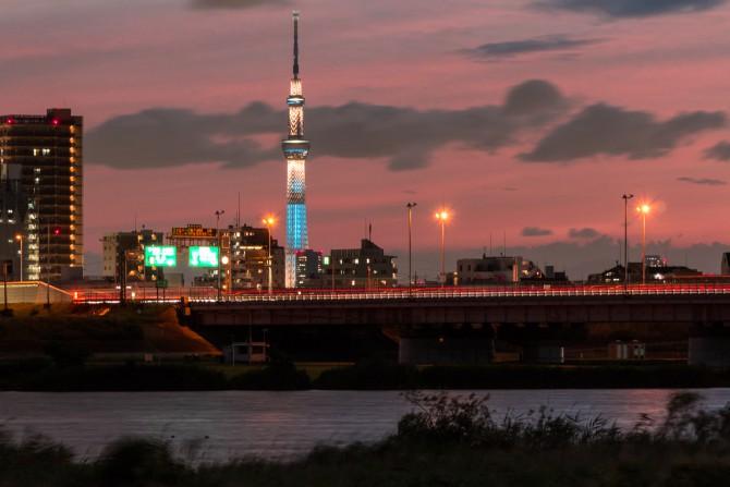 東京スカイツリーで「夏休み特別ライティング」 2015年7月18日(土)~8月31日(月)