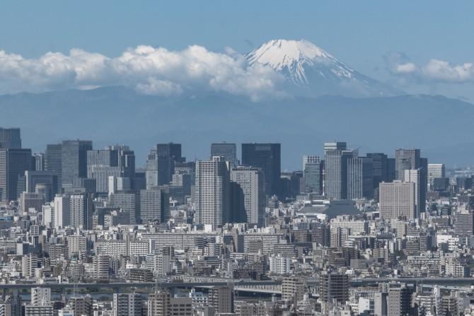 ひさしぶりの富士山