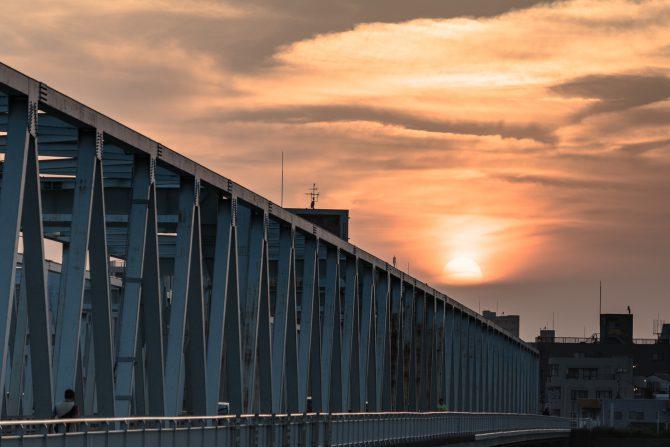 市川橋としわしわの空