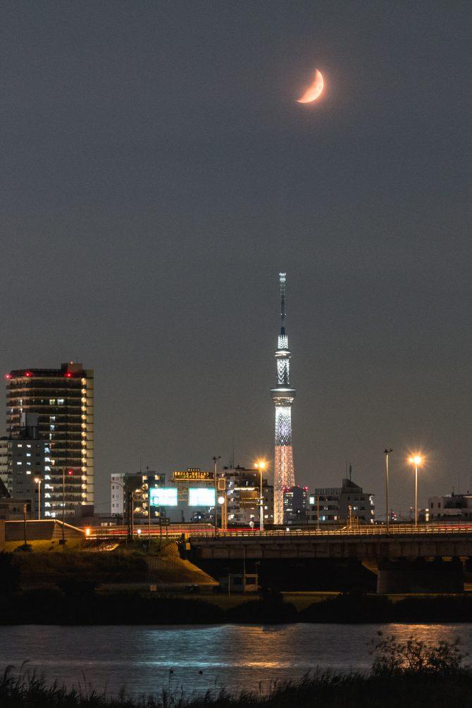 東京スカイツリーできょうから特別ライティング「煌」が点灯