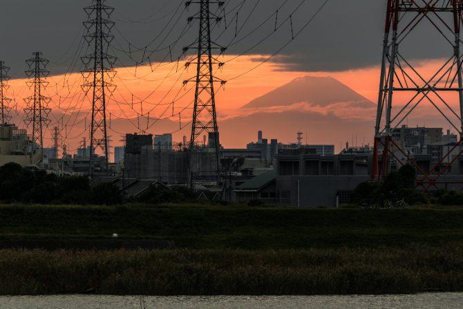 きのうの富士山