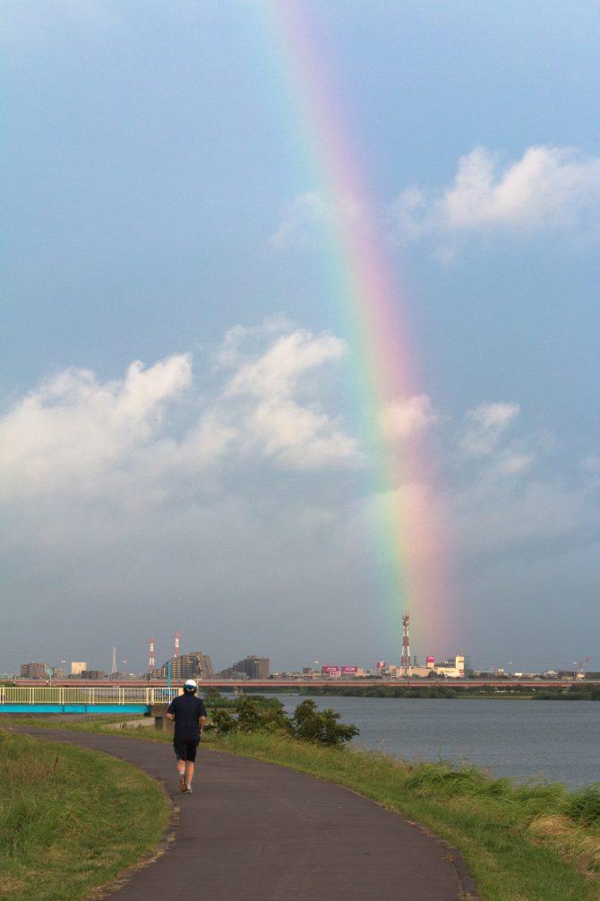 江戸川にて 8月16日撮影