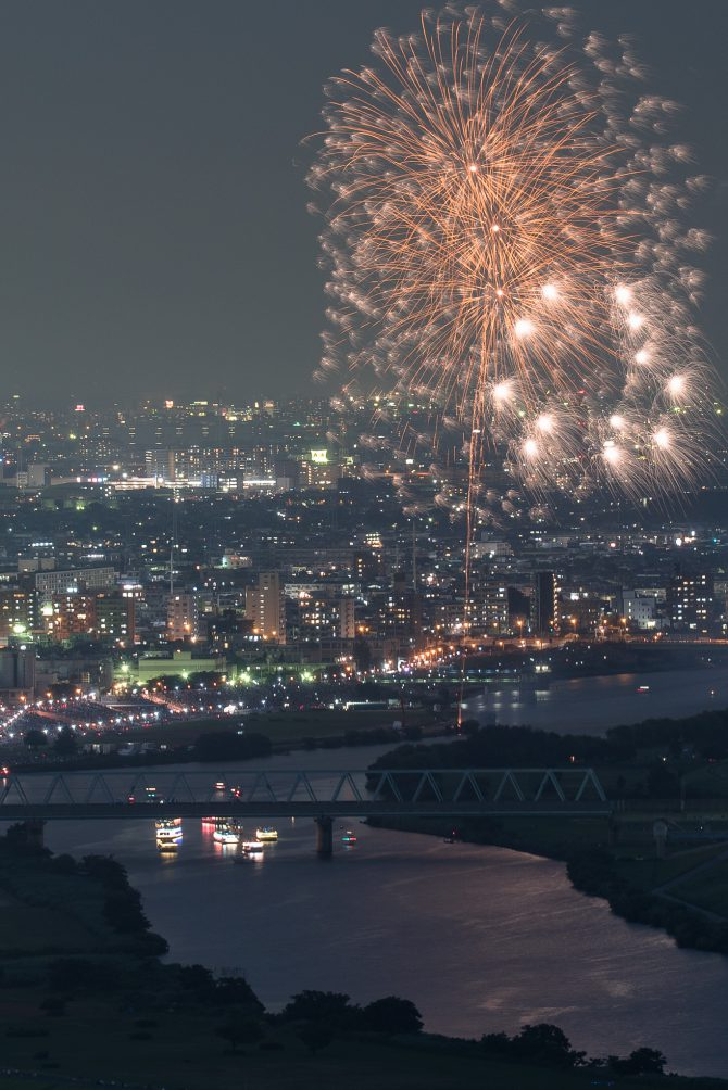 葛飾納涼花火大会 2017