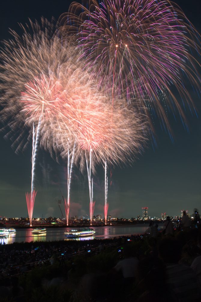 市川市周辺で開催される花火大会 2017年(再)