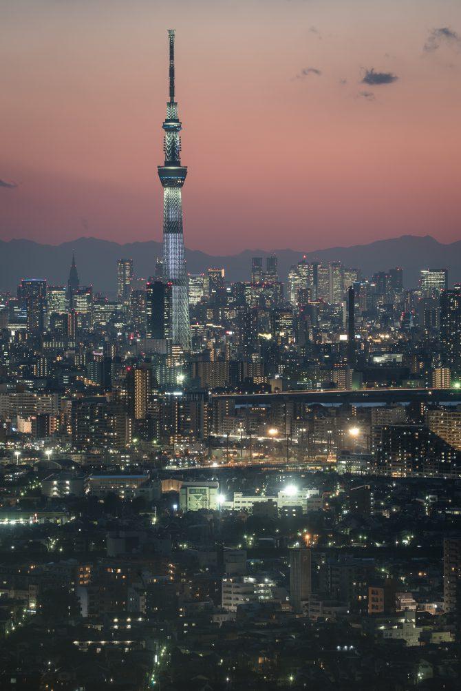 9月1日は東京スカイツリーで防災の日特別ライティング
