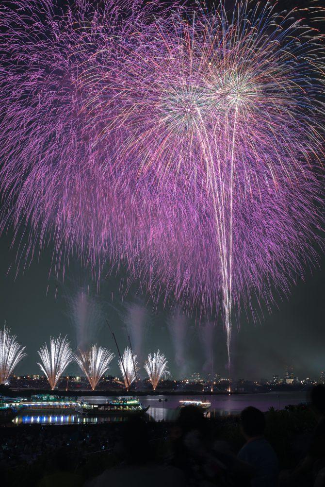 2018年 市川市周辺で開催される花火大会の日程