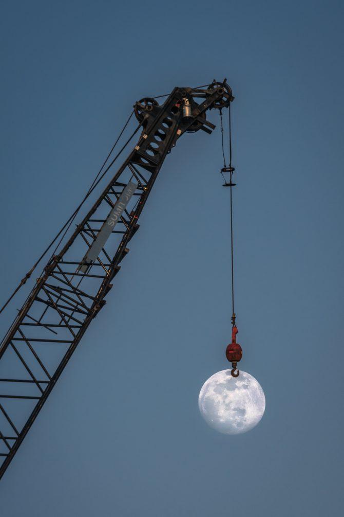 きょうは一年で一番大きな満月